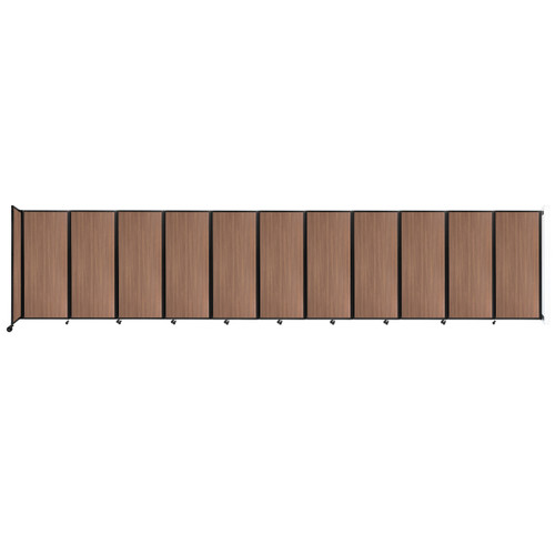 """Wall-Mounted Room Divider 360 Folding Portable Partition 30'6"""" x 6'10"""" River Birch Wood Grain"""