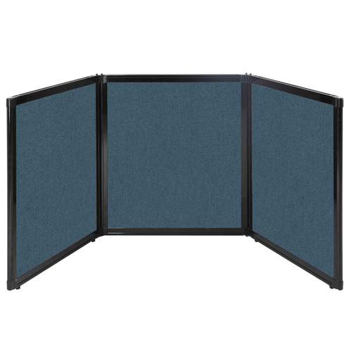 "Folding Tabletop Display 99"" x 36"" Caribbean Fabric"