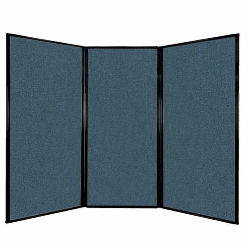 "Privacy Screen 7'6"" x 5'10"" Caribbean Fabric"