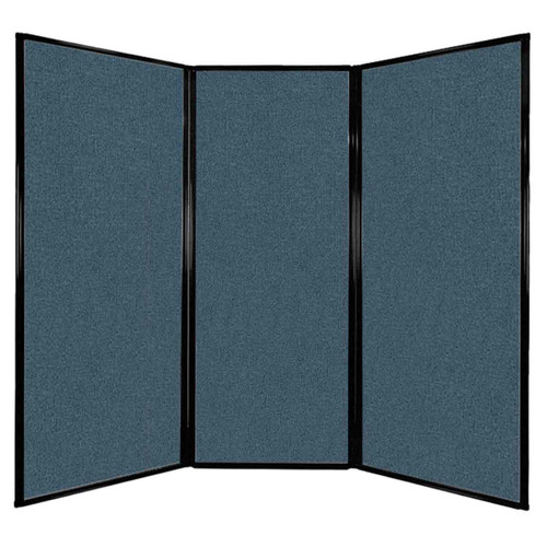"Privacy Screen 7'6"" x 6'8"" Caribbean Fabric"