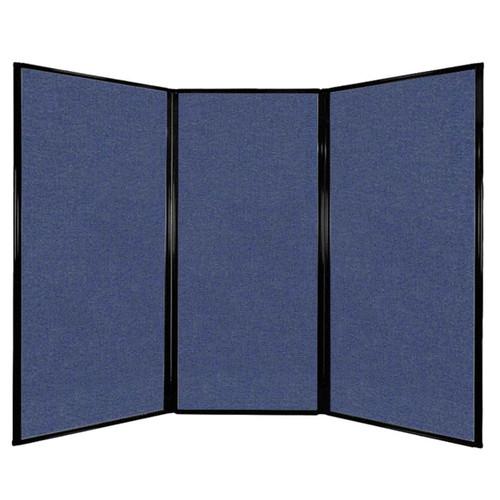 """Privacy Screen 7'6"""" x 5'10"""" Cerulean Fabric"""