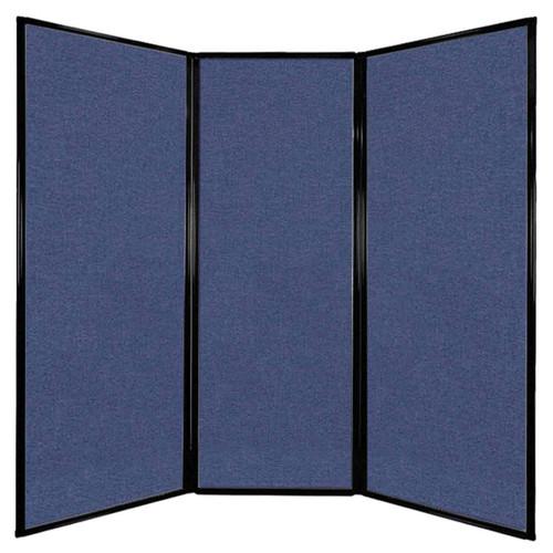 """Privacy Screen 7'6"""" x 7'4"""" Cerulean Fabric"""