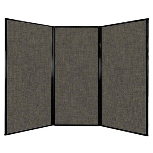 "Privacy Screen 7'6"" x 5'10"" Mocha Fabric"