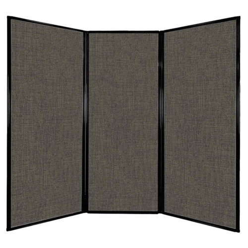 "Privacy Screen 7'6"" x 6'8"" Mocha Fabric"