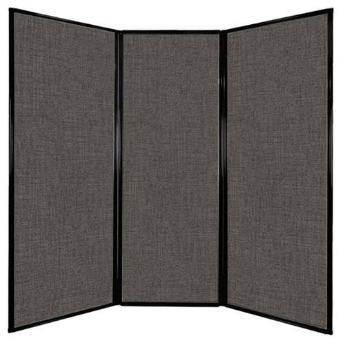 "Privacy Screen 7'6"" x 7'4"" Mocha Fabric"