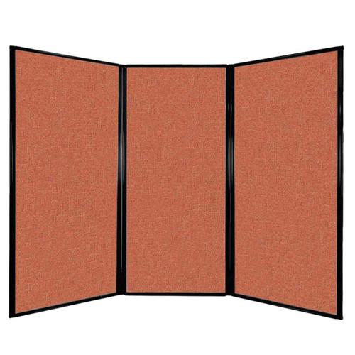 "Privacy Screen 7'6"" x 5'10"" Papaya Fabric"