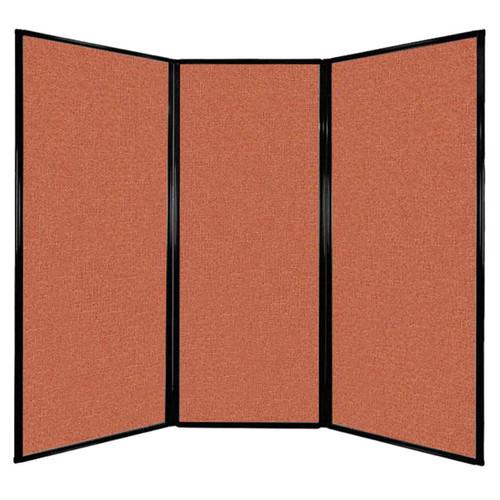 "Privacy Screen 7'6"" x 6'8"" Papaya Fabric"