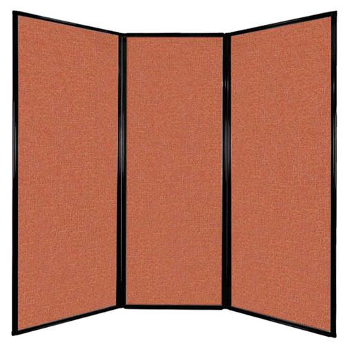 "Privacy Screen 7'6"" x 7'4"" Papaya Fabric"