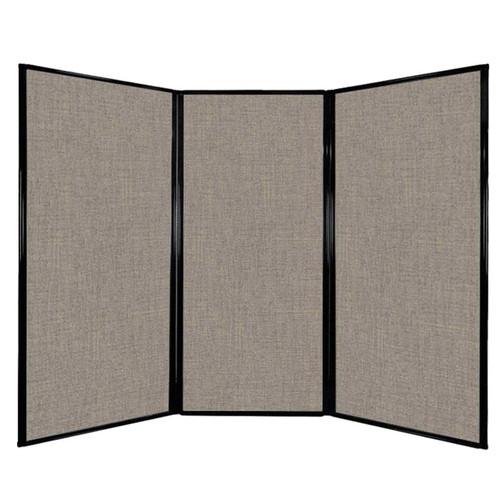"Privacy Screen 7'6"" x 5'10"" Warm Pebble Fabric"