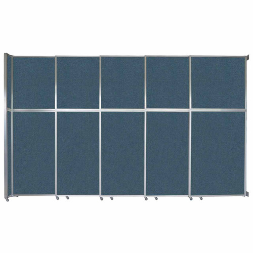 """Operable Wall Sliding Room Divider 15'7"""" x 10'3/4"""" Caribbean Fabric"""