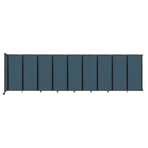 """Wall-Mounted Room Divider 360 Folding Partition 25' x 6'10"""" Caribbean Fabric"""
