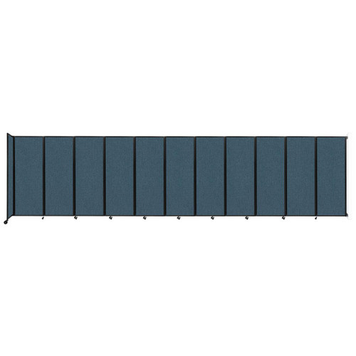 """Wall-Mounted Room Divider 360 Folding Partition 30'6"""" x 7'6"""" Caribbean Fabric"""