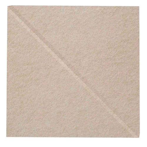 "Wall-Mounted SoundSorb Acoustic Panels 12"" Square Shoreline Beige High Density Polyester"