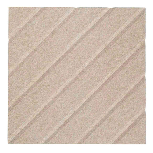 """Wall-Mounted SoundSorb Acoustic Panels 12"""" Square River Beige High Density Polyester"""