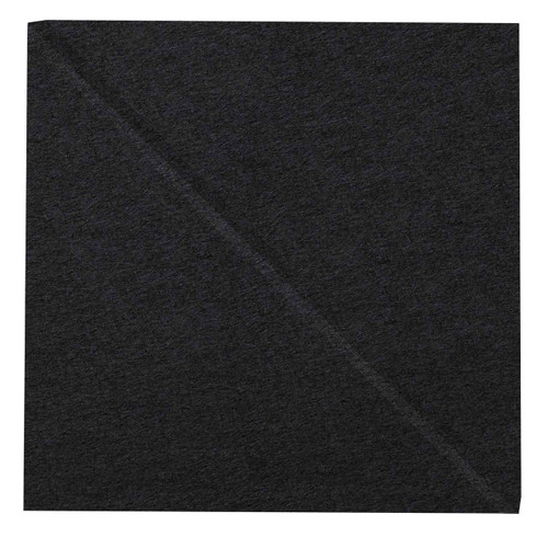 """Wall-Mounted SoundSorb Acoustic Panels 12"""" Square Shoreline Black High Density Polyester"""