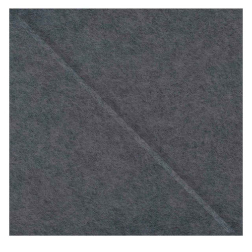 "Wall-Mounted SoundSorb Acoustic Panels 12"" Square Shoreline Dark Gray High Density Polyester"