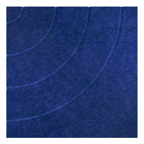 """Wall-Mounted SoundSorb Acoustic Panels 24"""" Square Cloud Blue Density Polyester"""