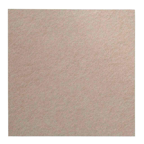"""Wall-Mounted SoundSorb Acoustic Panels 24"""" Square Flat Beige High Density Polyester"""