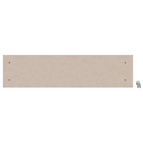 Wall-Mounted Standoff SoundSorb Acoustic Panels 1' x 4' Beige High Density Polyester