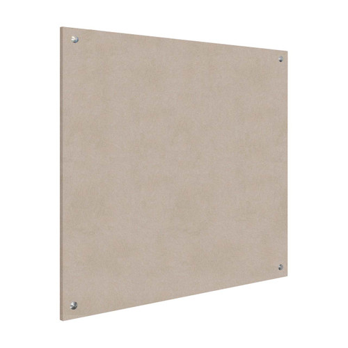 Wall-Mounted Standoff SoundSorb Acoustic Panels 4' x 4' Beige High Density Polyester