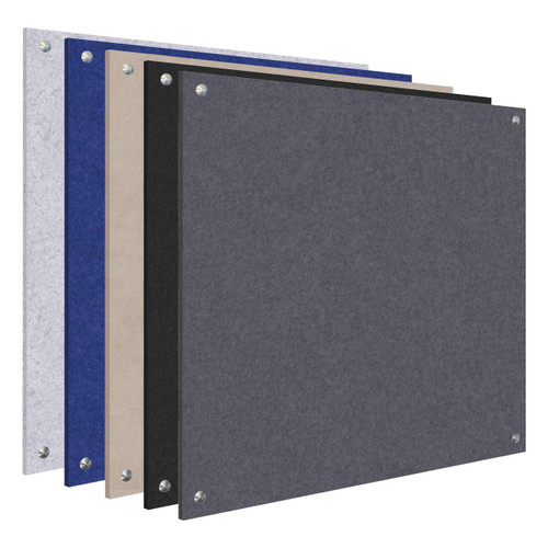 Wall-Mounted SoundSorb Acoustic Standoff Panels (Bulk Pack)