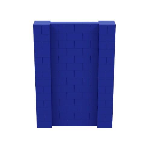 5' x 7' Blue Simple Block Wall Kit