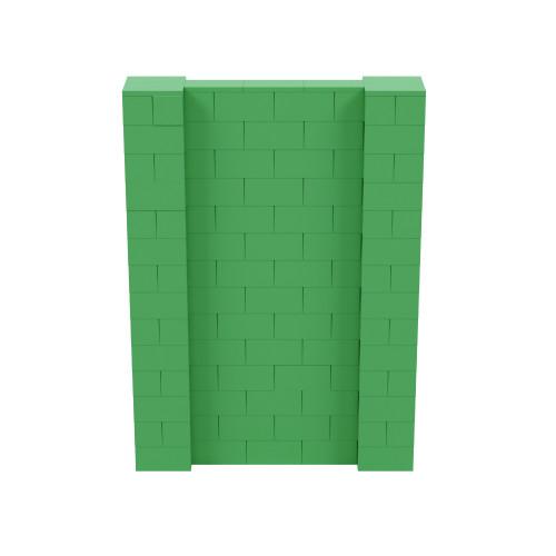 5' x 7' Green Simple Block Wall Kit