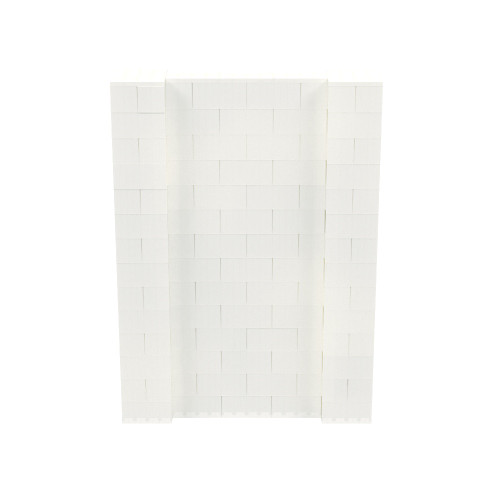 5' x 7' Translucent Simple Block Wall Kit