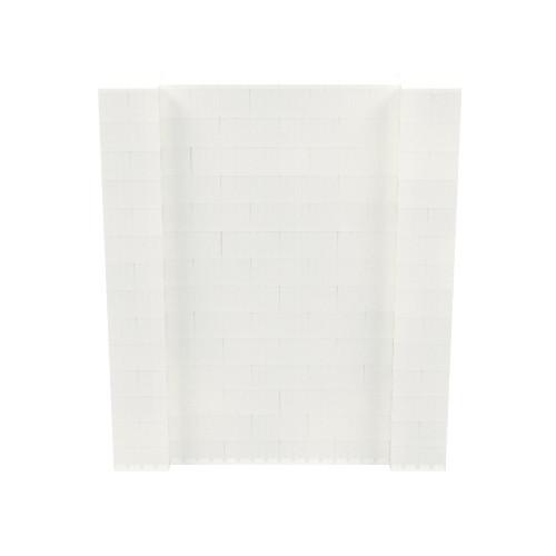 6' x 7' Translucent Simple Block Wall Kit