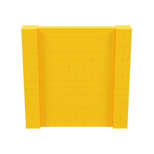 7' x 7' Yellow Simple Block Wall Kit