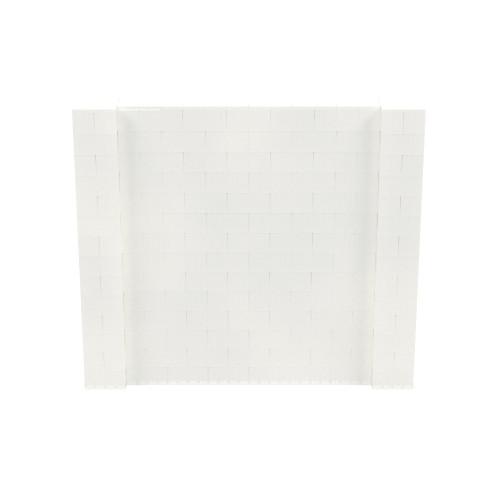 8' x 7' Translucent Simple Block Wall Kit