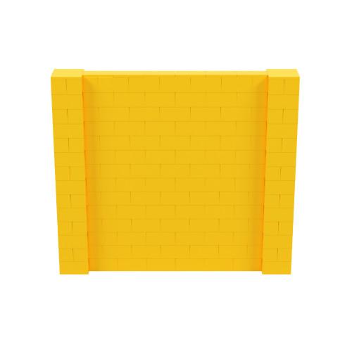 8' x 7' Yellow Simple Block Wall Kit
