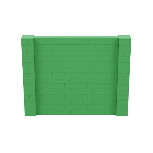 9' x 7' Green Simple Block Wall Kit