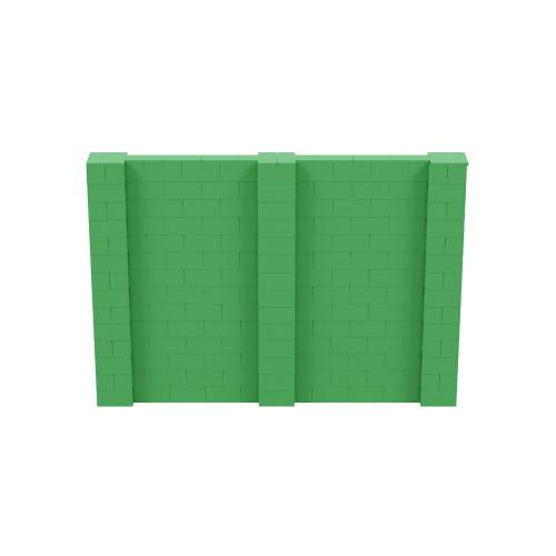 10' x 7' Green Simple Block Wall Kit