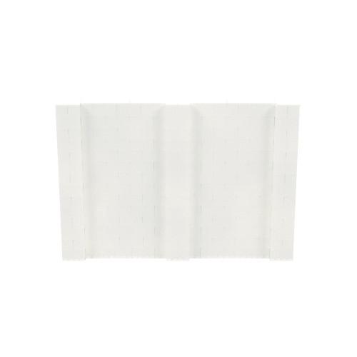 10' x 7' Translucent Simple Block Wall Kit