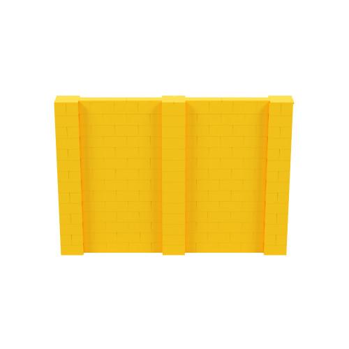 10' x 7' Yellow Simple Block Wall Kit