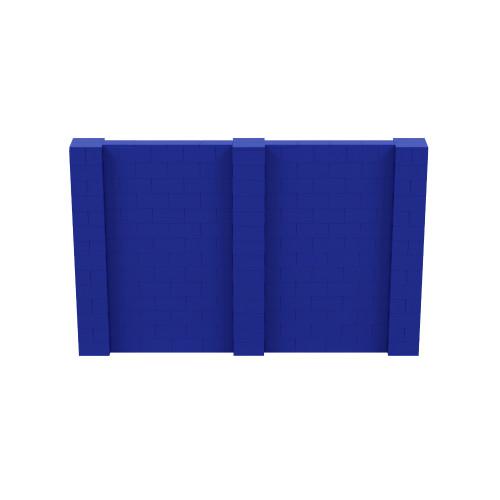 11' x 7' Blue Simple Block Wall Kit