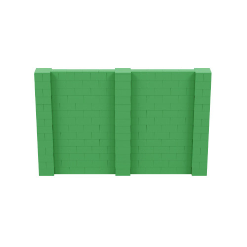 11' x 7' Green Simple Block Wall Kit