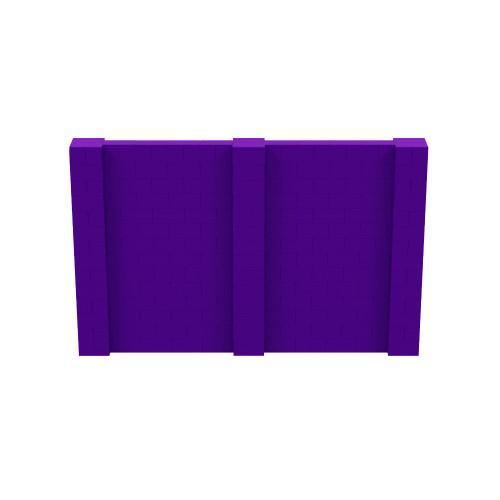 11' x 7' Purple Simple Block Wall Kit