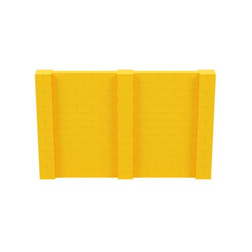 11' x 7' Yellow Simple Block Wall Kit