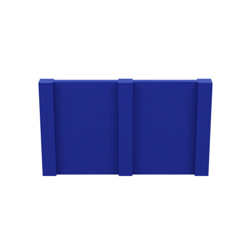 12' x 7' Blue Simple Block Wall Kit