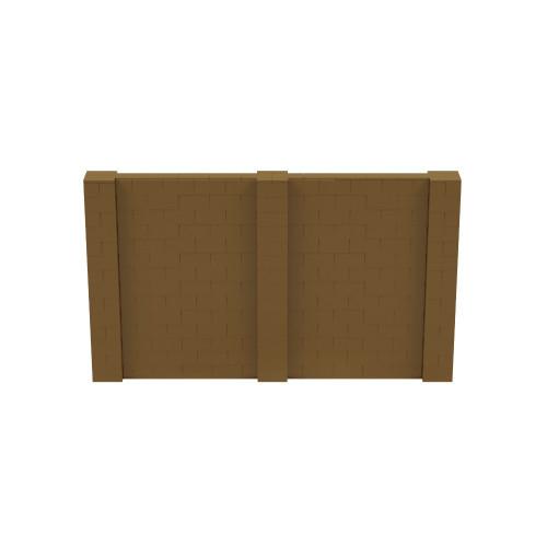 12' x 7' Gold Simple Block Wall Kit