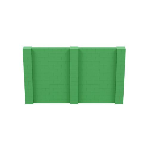 12' x 7' Green Simple Block Wall Kit