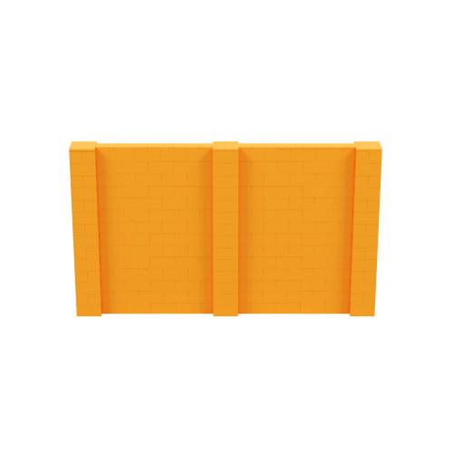 12' x 7' Orange Simple Block Wall Kit