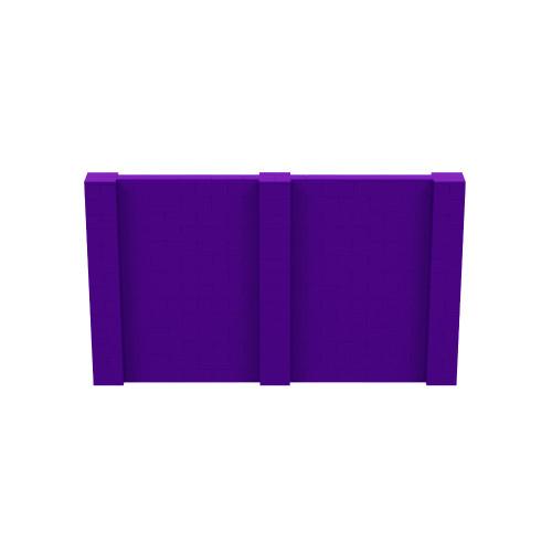 12' x 7' Purple Simple Block Wall Kit