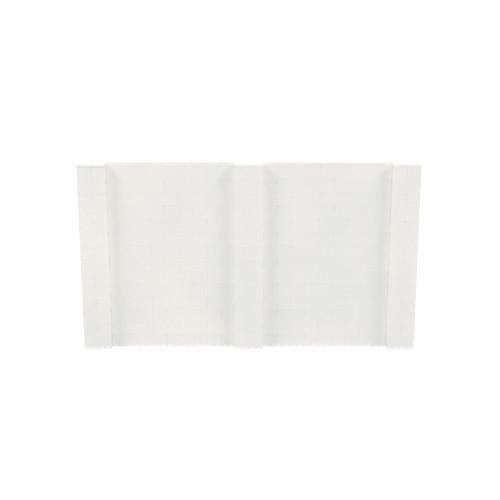 12' x 7' Translucent Simple Block Wall Kit