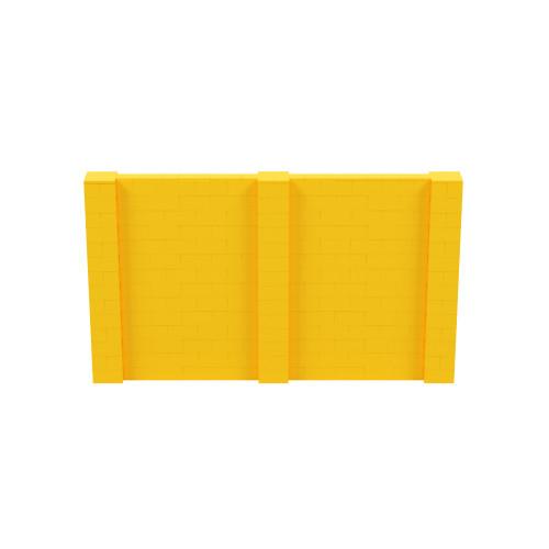 12' x 7' Yellow Simple Block Wall Kit