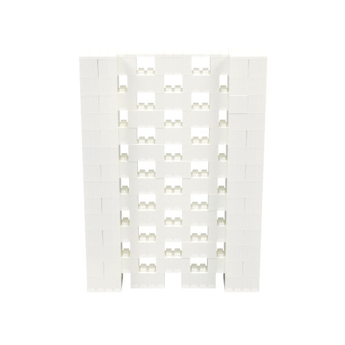 5' x 7' Translucent Open Stagger Block Wall Kit