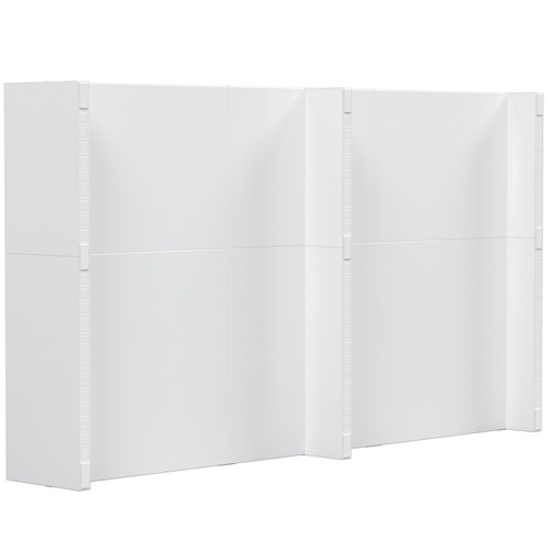 """Fully assembled 12'6"""" x 7' EverPanel"""