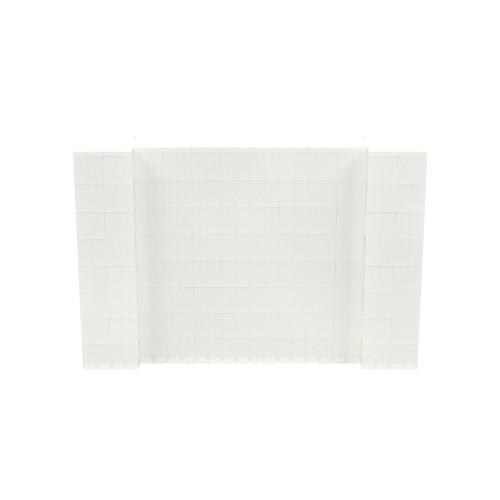 6' x 4' Translucent Simple Block Wall Kit